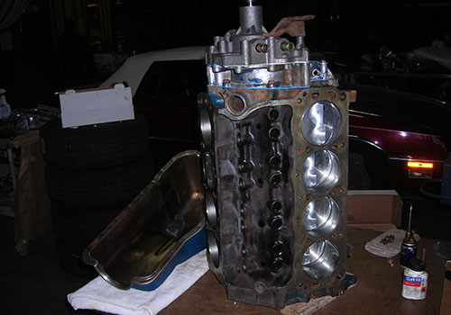 Ford Mustang 302 Motor Revision