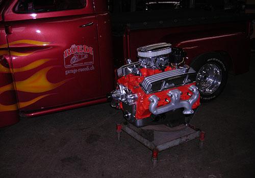 Chevrolet 383 Stroker Revision mit Veredlung