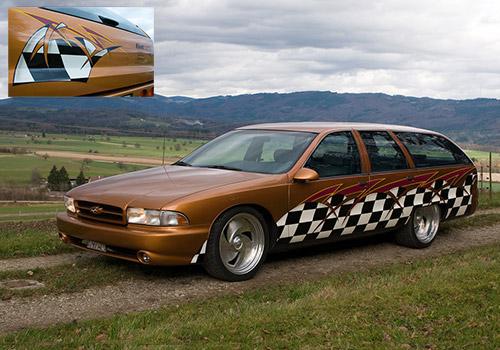 Chevrolet Caprice Designlackierung